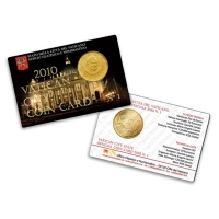 Coin Card 2010 Vaticano